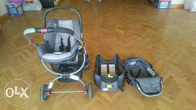 Stroller and csr seat set