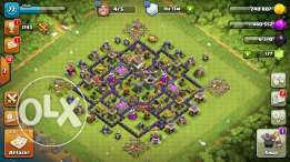 Clash of clans account TH8 MAX