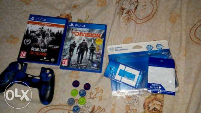 for sale the division arabic dying light the following  covers ps4 new  5 grips new الهرم -  1