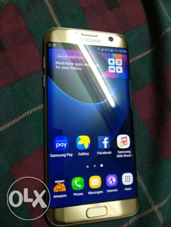 Samsung s7 egde 32 4g with original charger only from usa الإسكندرية -  3