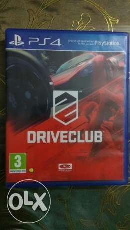 Drive club for ps4 as new