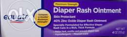 New Equate diaper rash cream compare to Desitin maximum strengths