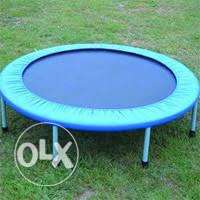 small trampoline for play and sports