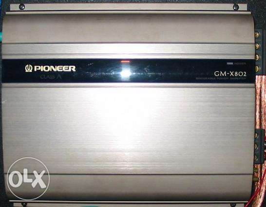 GM Pioneer amplifier Made in USA