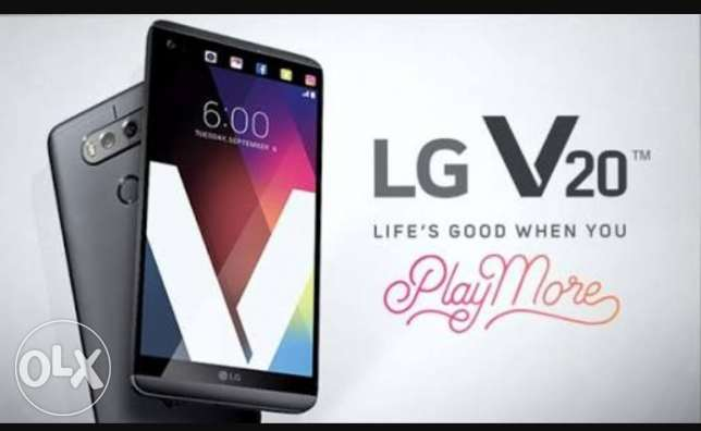 Lg v20 ال جى special edition like new