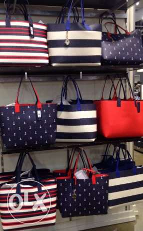 Orginal Tommy bags available for immediate purchase