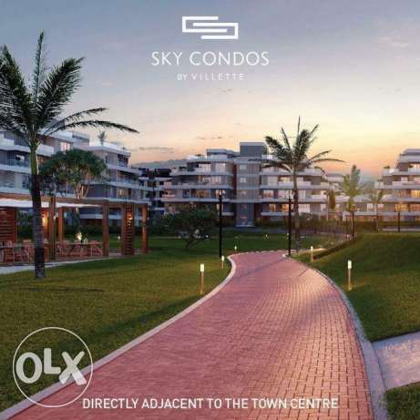 شقة159 م بكمبوند فيلييت-Apartment 159m In Sky Condos Villette Compoun