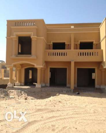 Corner town house in Royal Meadows Zayed Prime location