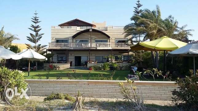 Villa for sale in Marina 5 mouthpiece minister first row Asear-Brough العلمين -  4