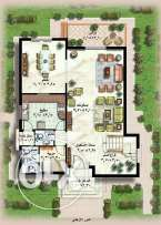 stand alone villa type U Rihab 2 new Cairo direct from owner
