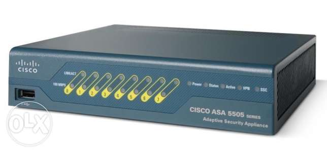 ASA5505-50-BUN-K9 Cisco ASA 5505 Appliance with 50-User Firewall Licen المعادي -  1