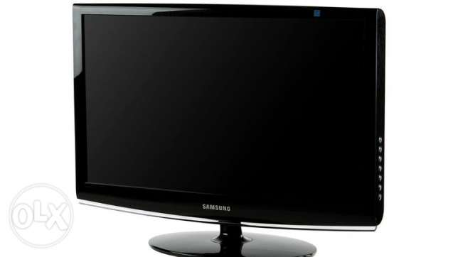 SAMSUNG 23 inch Widescreen LCD Monitor + DVI-D cable + stand