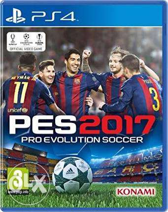 pes 17, fifa 17 and others PS4