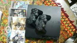 Playstation 3 slim كالجديد