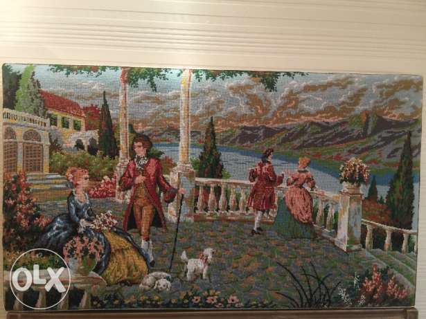 French Aubusson tableau