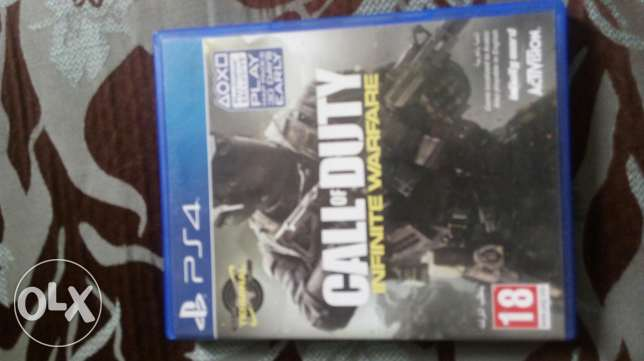Call of duty Infinite Warfare used in very good condition code unused