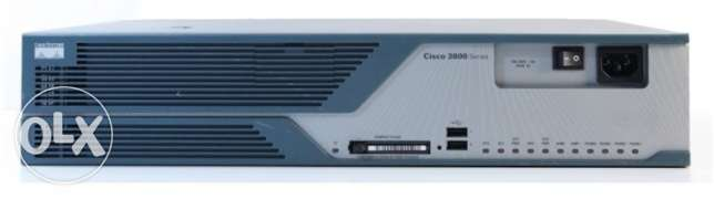 The Cisco 3825 Integrated Services Router