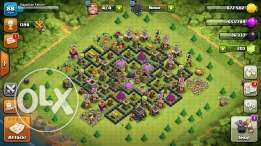 clash of clans town 8 maxxed