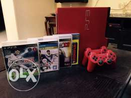 Playstation 3 - Special Edition (RED)