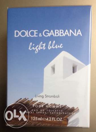 Dolce and gabbana light blue 125 ml EDT for men