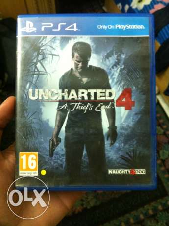 uncharted 4 perfect condition المعادي -  1