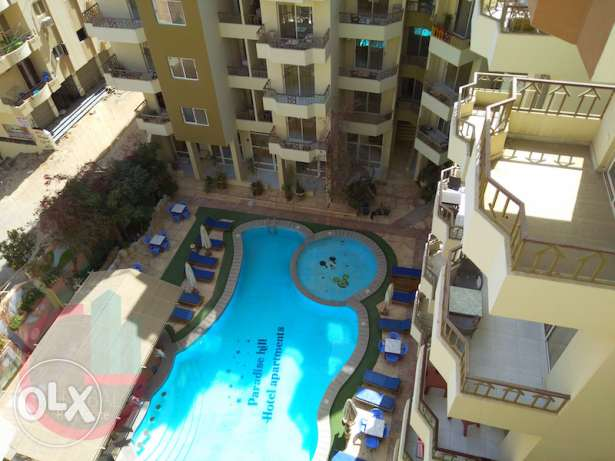 Fully furnished 1 bedroom apartment in Paradise Hill compound الغردقة -  4