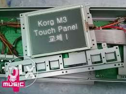 korg m3 screen and touch panel