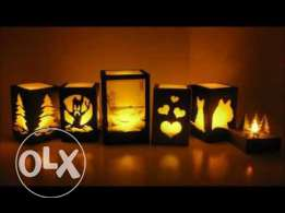 Home made night lamps