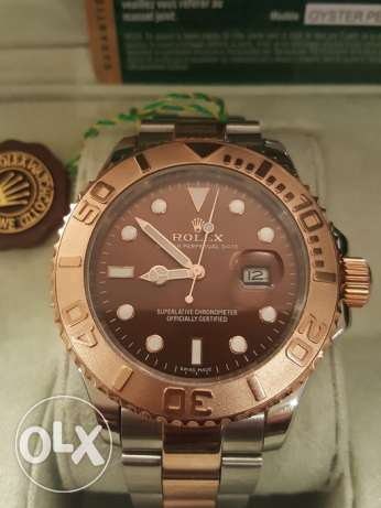 Rolex Yacht Master1 Rose-Gold first copy with box and Int. guarantee القاهرة -  6