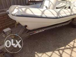 Mac 360 unsinkable boat made in New Zealand + Galvanized Steel trailer