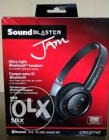 Creative Sound Blaster Jam Bluetooth Headset **جديدة متبرشمة**