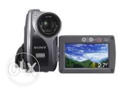 Sony video cam dcr dvd 705 e