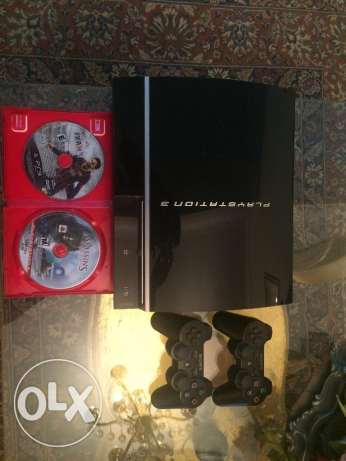 ps3 fat for sale مصر الجديدة -  1