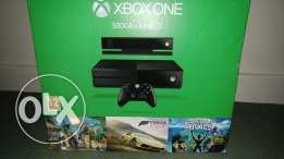 New Xbox One 500 GB., Kinect Bundel