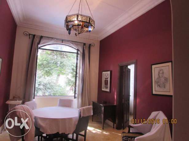 for Rent flat furnished 3 rooms 3 bathroom in very cool road 9 maadi المعادي -  5