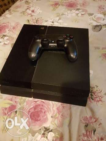 playstation 4 + joystick + fifa 16 الإسكندرية -  1