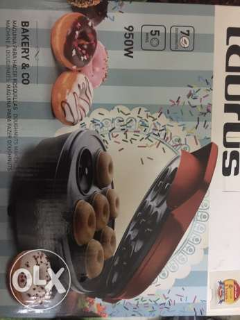 taurus donuts maker 950w made in spain 2 years warranty