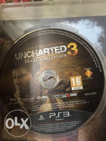 uncharted for PS3 used الوراق -  3