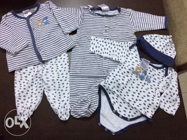 Baby clothes - size 0-3 month. سالوبيتات شيراتون -  2