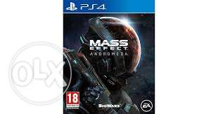 for sale mass effect andromeda PS4 used