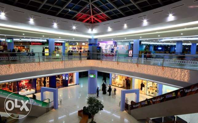 commercial and entertainment mall