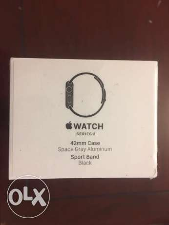Apple Watch Series 2 42MM Sport Space Gray New & Sealed