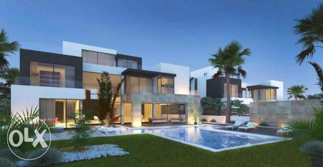villa standalone 855 m in amazing compound