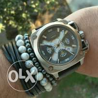 Diesel leather watch 10Bar