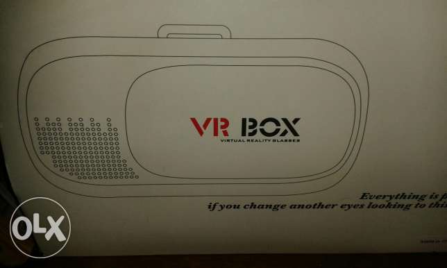 Vr box for sale used only for 3 times