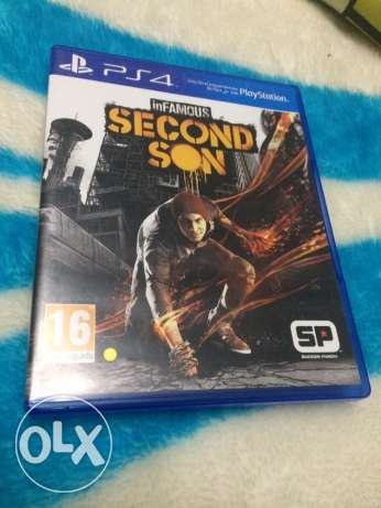 Infamous Second Son : PS4 Game , for sale and trade