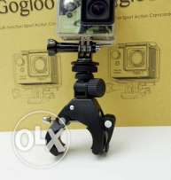 gopro mount for handlebar or rail or pipe