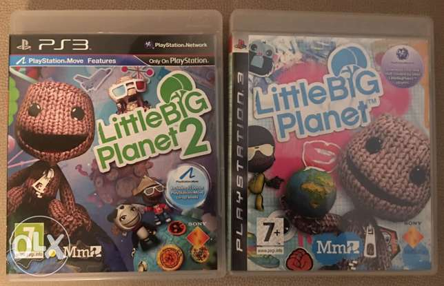 Little Big Planet 1 and 2 - PS3 Games