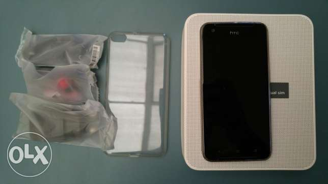 Htc one X9 black with 2 back covers