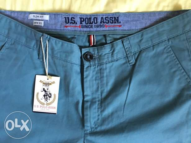 new us polo assn trouser original never used